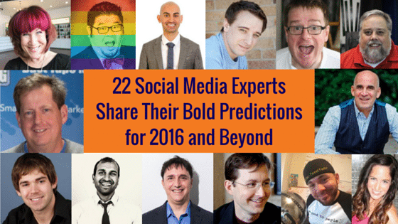 social media marketing 2016