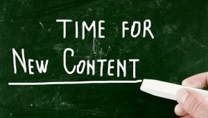 Time for content sign .eClincher, social media management tool