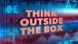 Think outside of the box. eClincher, social media management tool