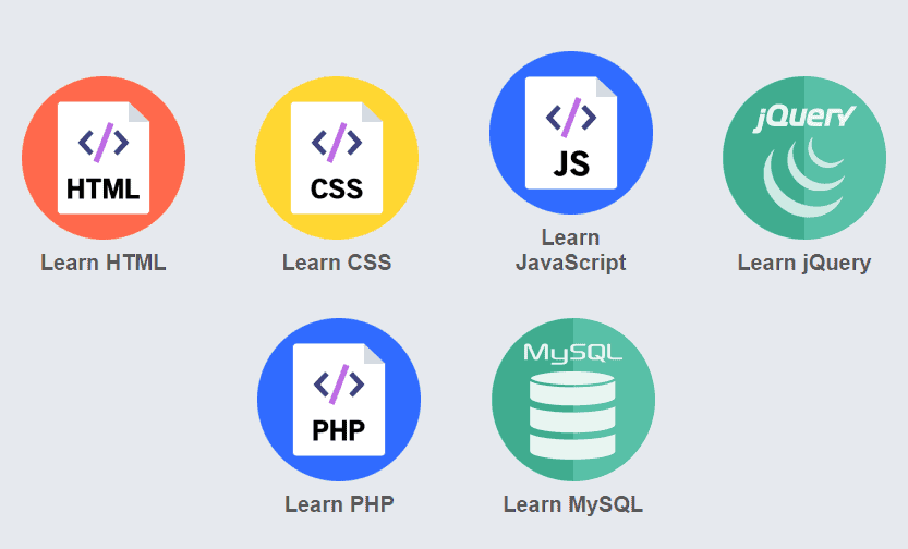 learn free web design and coding tutorials