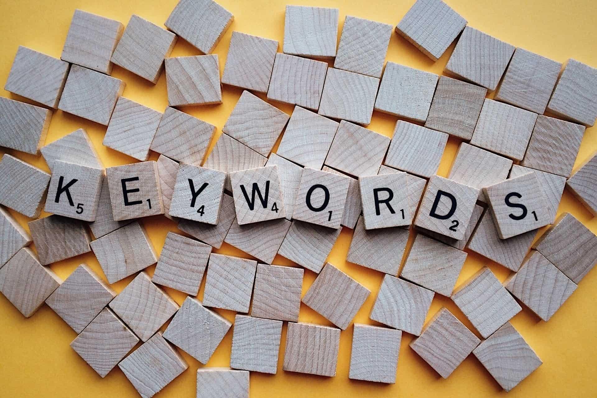 keywords tiles