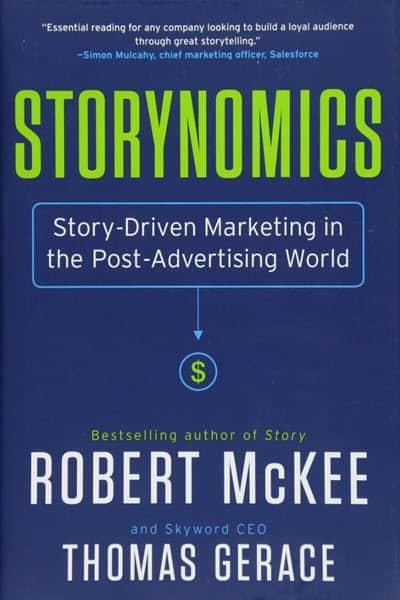 storynomics social media marketing books