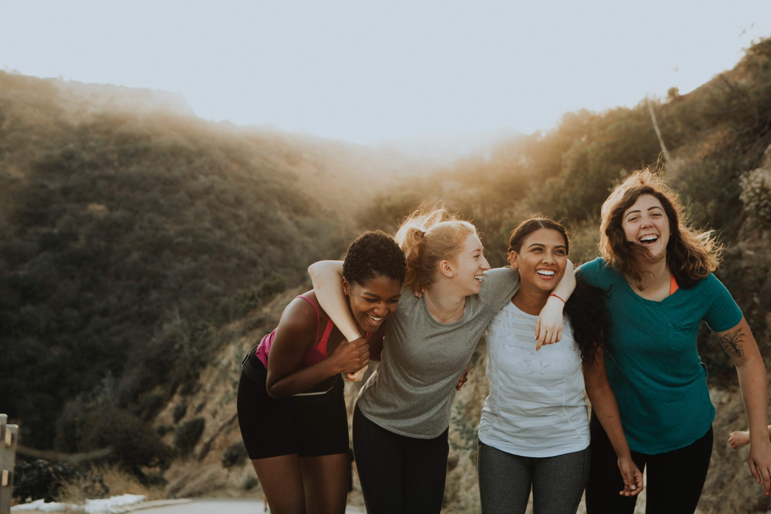 women-smiling-in-nature