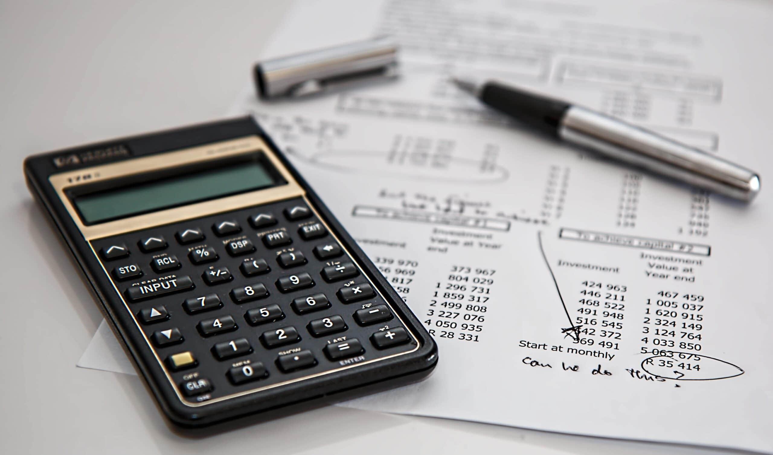 calculator-and-budget