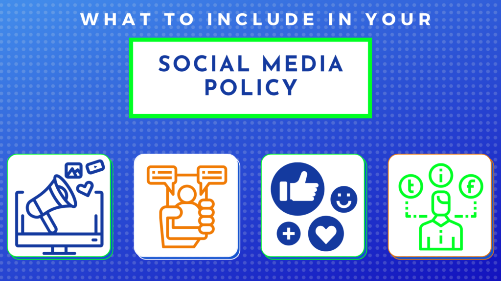 what to include in your social media policy
