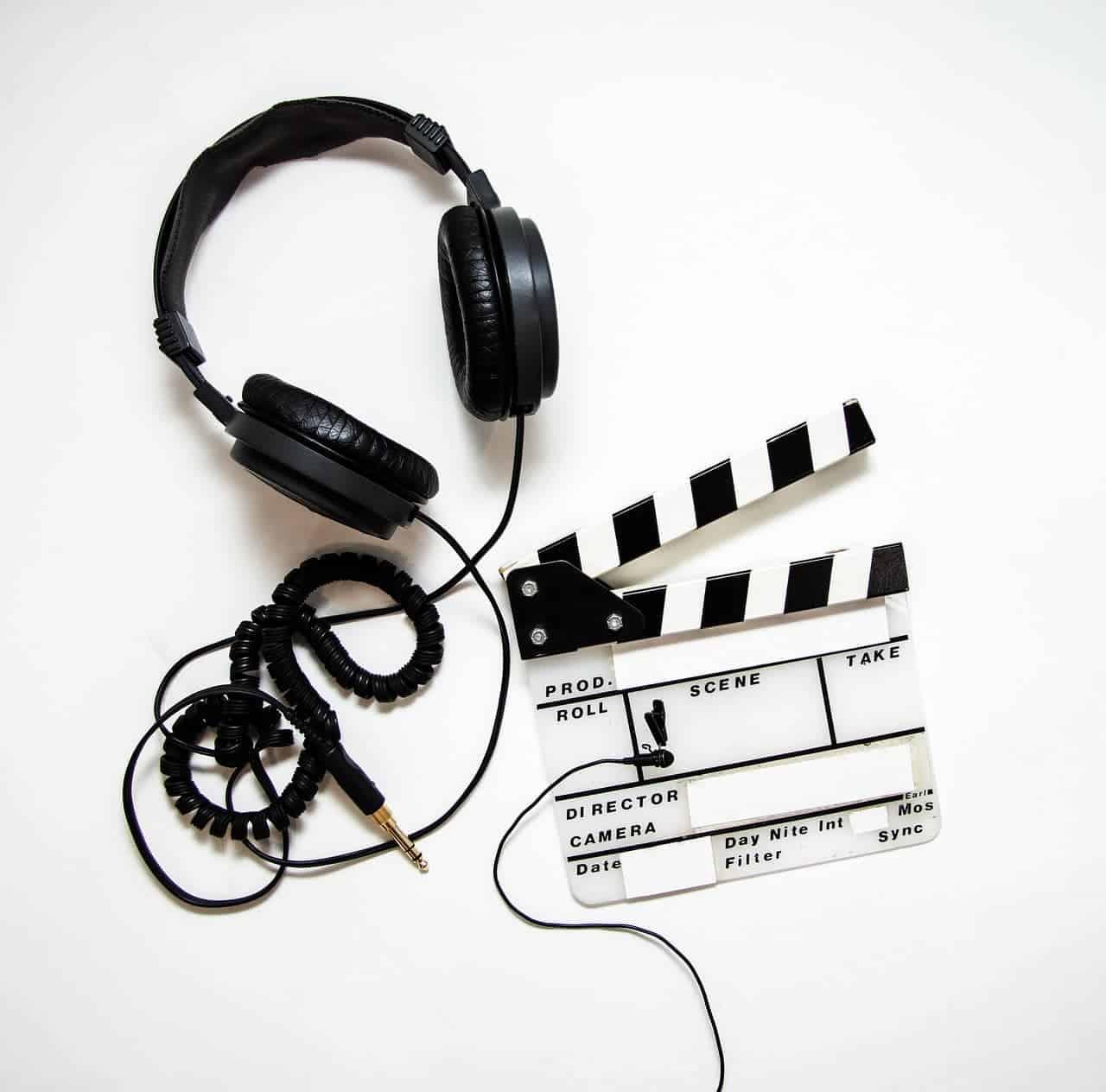 headphones-and-slate