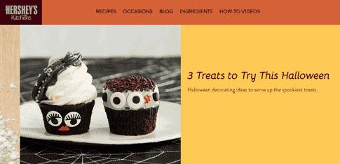cupcakes halloween social media posts