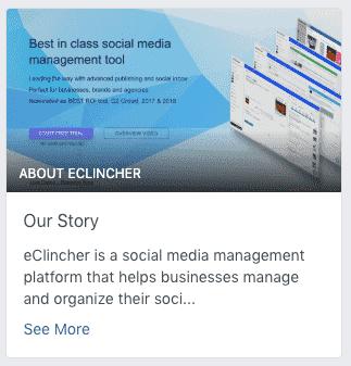 eclincher facebook story