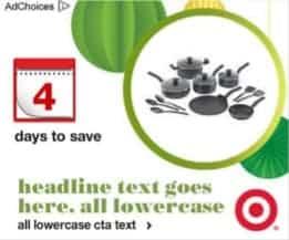 mistake in target facebook ad