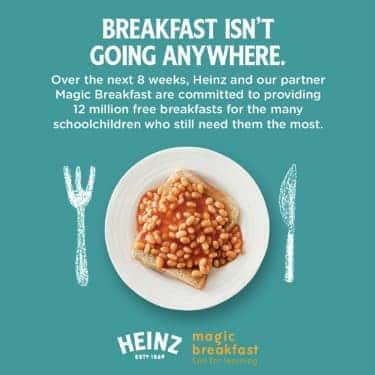 heinz breakfast during coronavirus pandemic