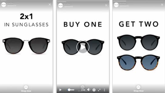 sunglasses instagram ads