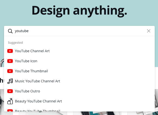 canva for youtube