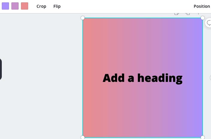 canva gradient color options