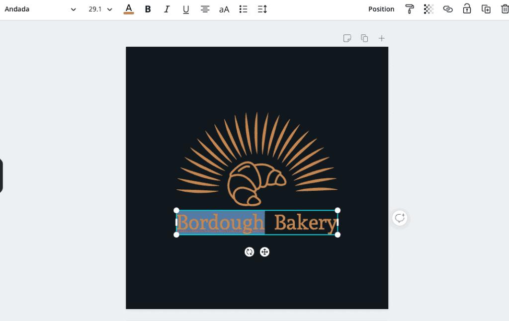 canva tutorial logo edit