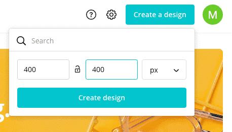custom dimensions create design