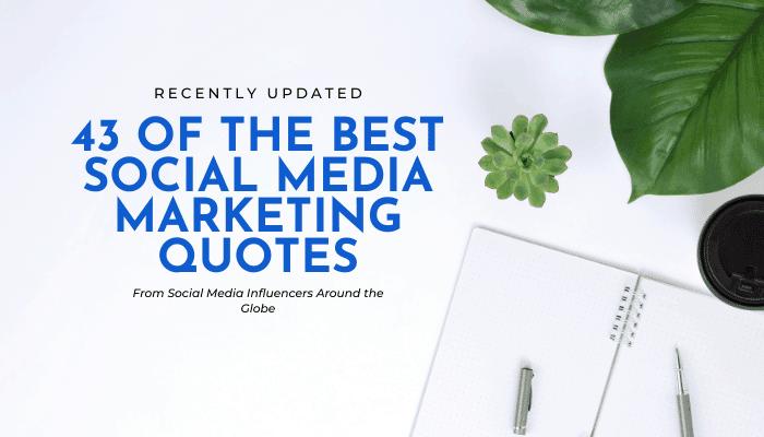 43 social media quotes eclincher