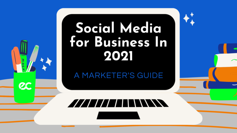 social media for business eclincher blog graphic