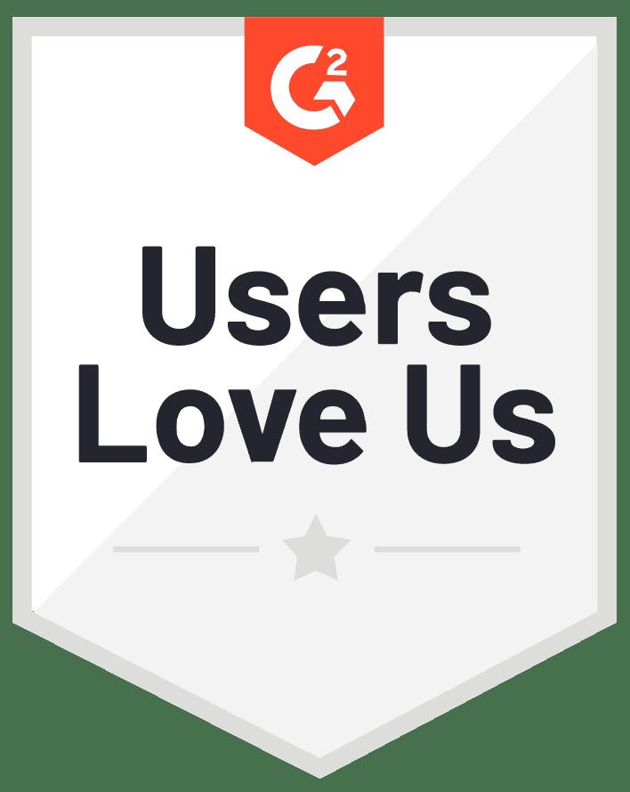 G2 users love us - social media tools
