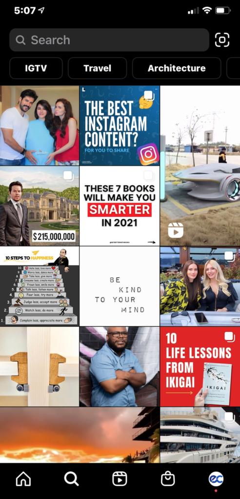 eclincher Instagram Explore Page 2021