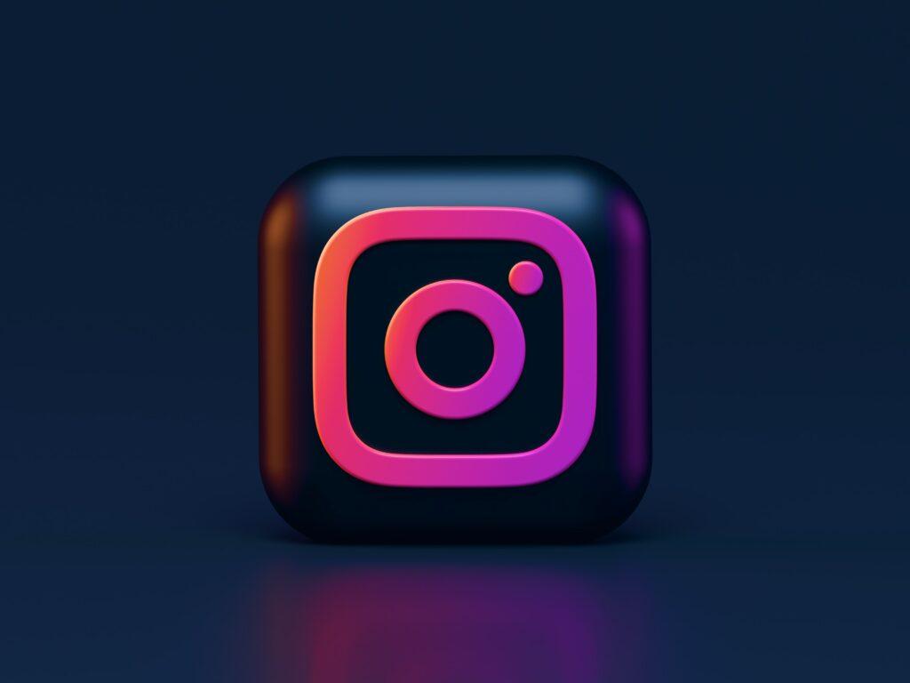 instagram seo 3d logo