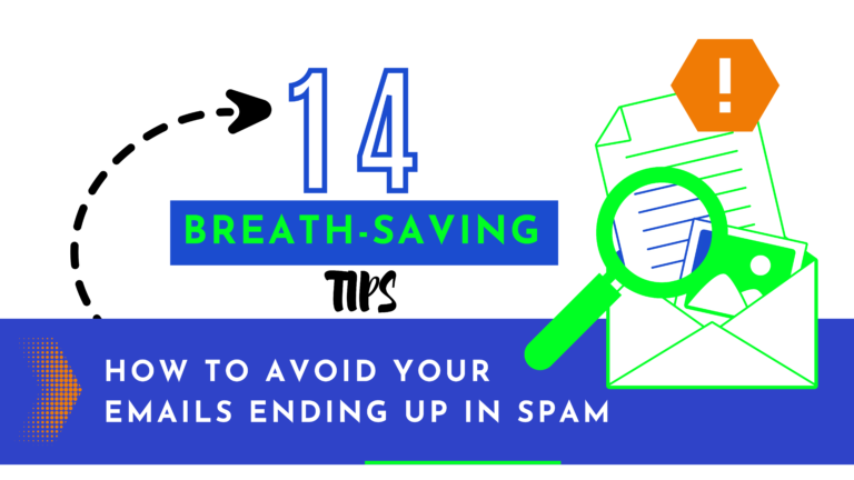 14 breath saving tips how to avoid your emails ending up in spam
