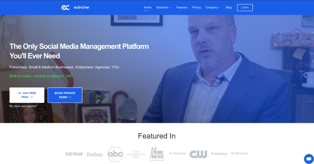 eclincher the only social media management tool you need