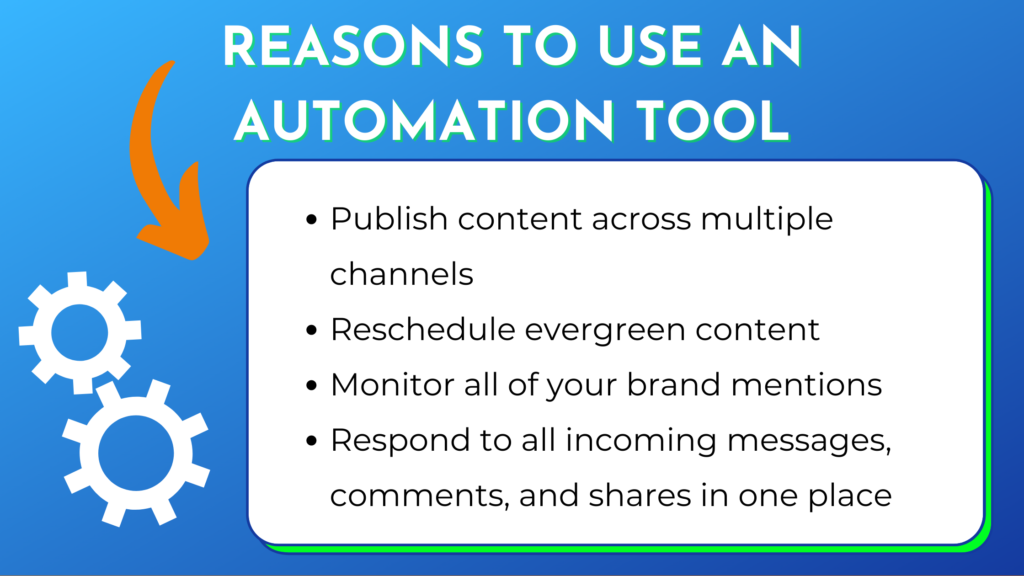 reasons ecommerce brands use social media autiomation tools