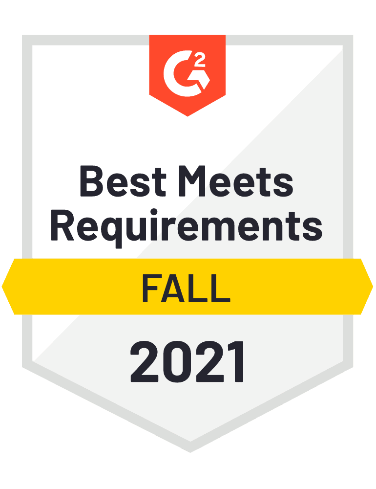 eclincher Best Meets Requirements G2 Fall 2021