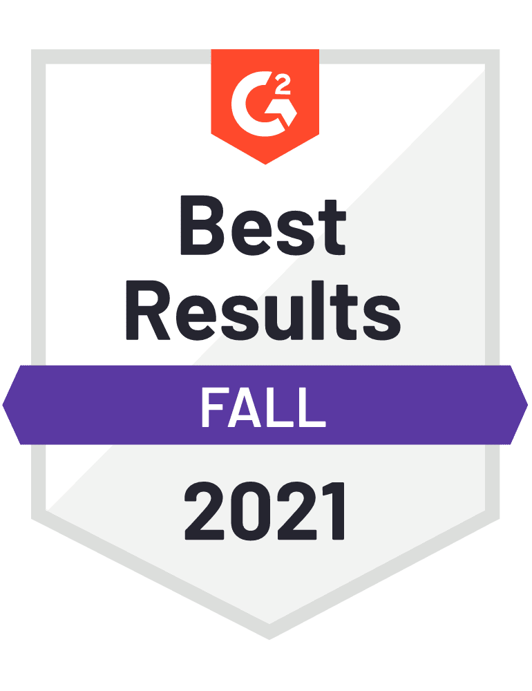 eclincher Best Results G2 Fall 2021