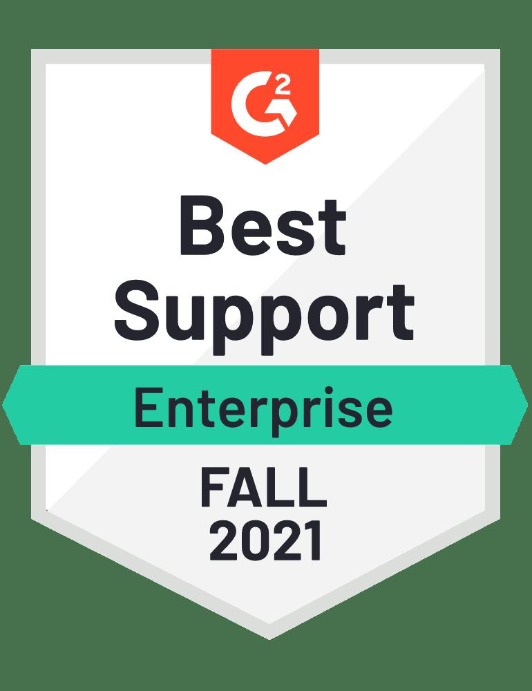 eclincher Best Support Enterprise G2 Fall 2021