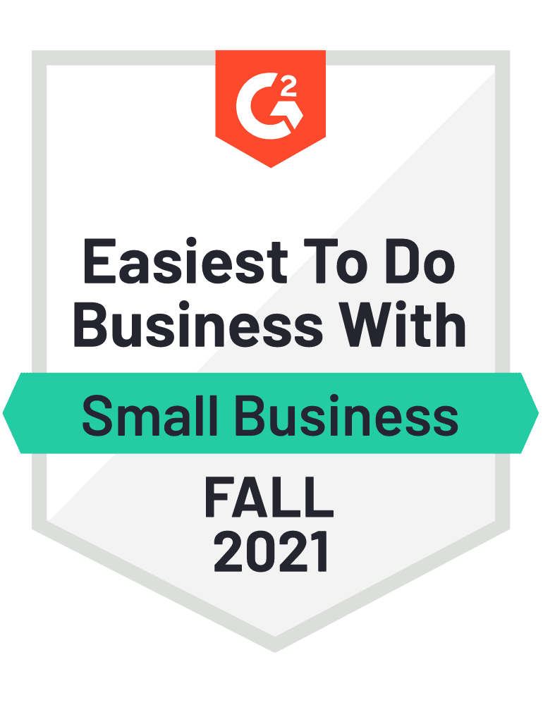 eclincher easiest to do business with SMB G2 Fall 2021