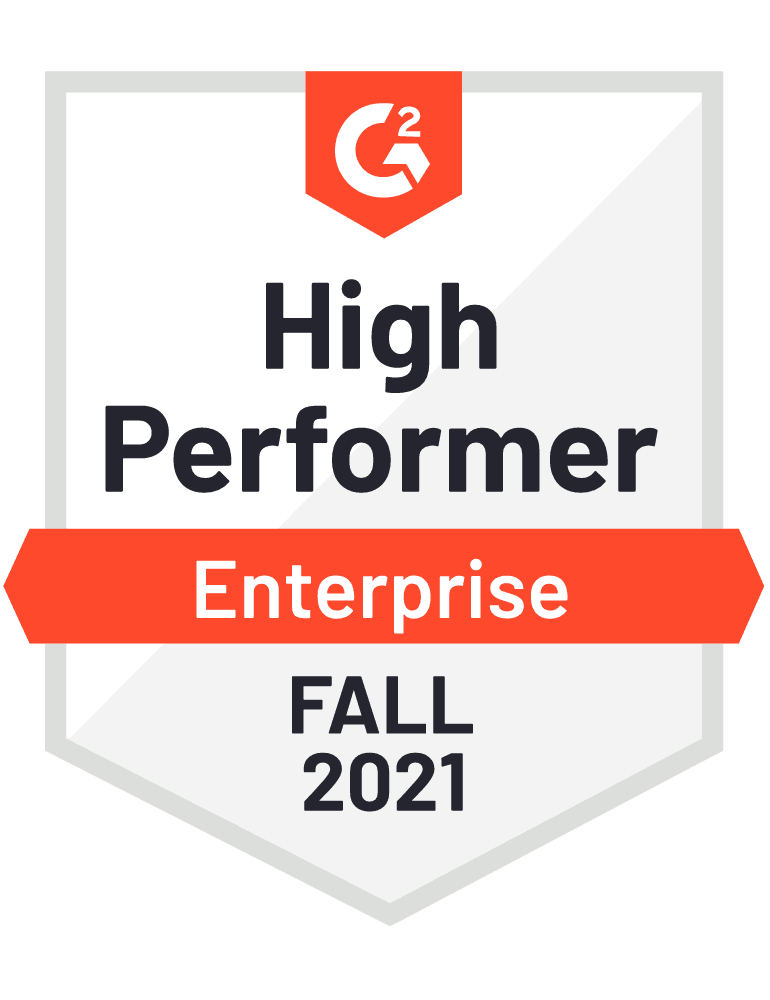 eclincher High Performer Enterprise G2 Fall 2021