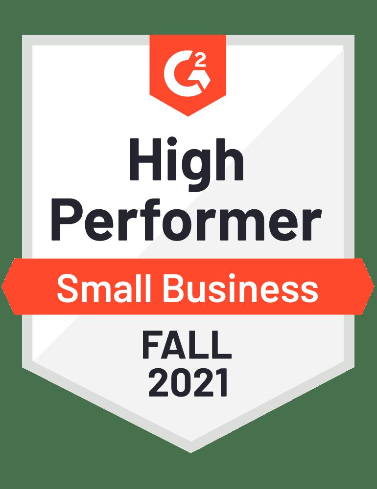 eclincher High Performer SMB G2 Fall 2021