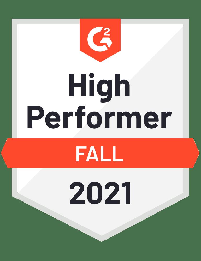 eclincher High Performer G2 Fall 2021