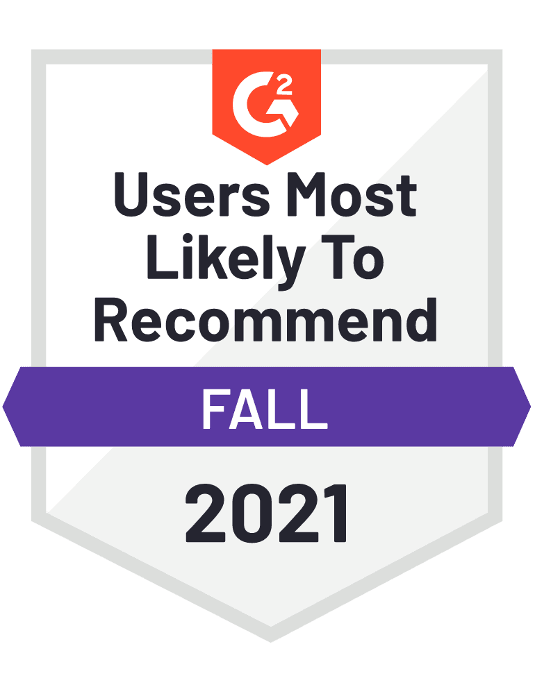 eclincher Users Most Likely To Recommend G2 Fall 2021